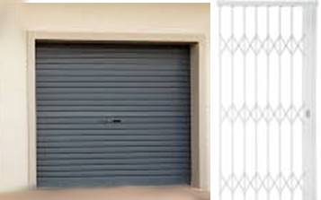 garage doors and expanda security gates