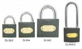 iron double link padlocks