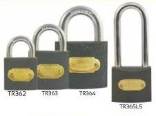 iron tri circle padlocks