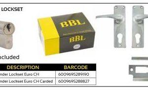 BBL Cylinder Lockset