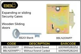 BBL Expanding or Sliding Security Gates