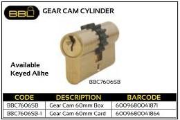BBL Gear Cam Cylinder