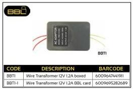 BBL Wire Transformer 12V