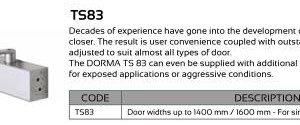 Dorma TS83 Door Closer
