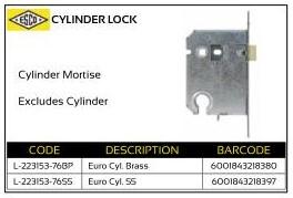 ESCO Cylinder Lock