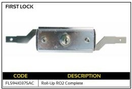 First Lock Roll-Up Garage Lock RO2
