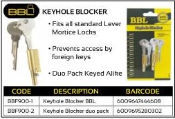 Keyhole Blocker