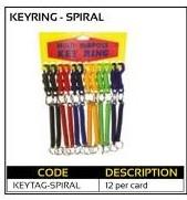 Spiral Keyring