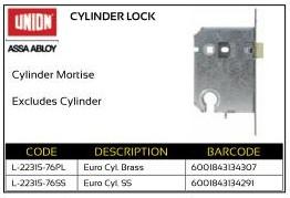 Union Cylinder Lock