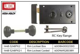 Union Rim Lockset